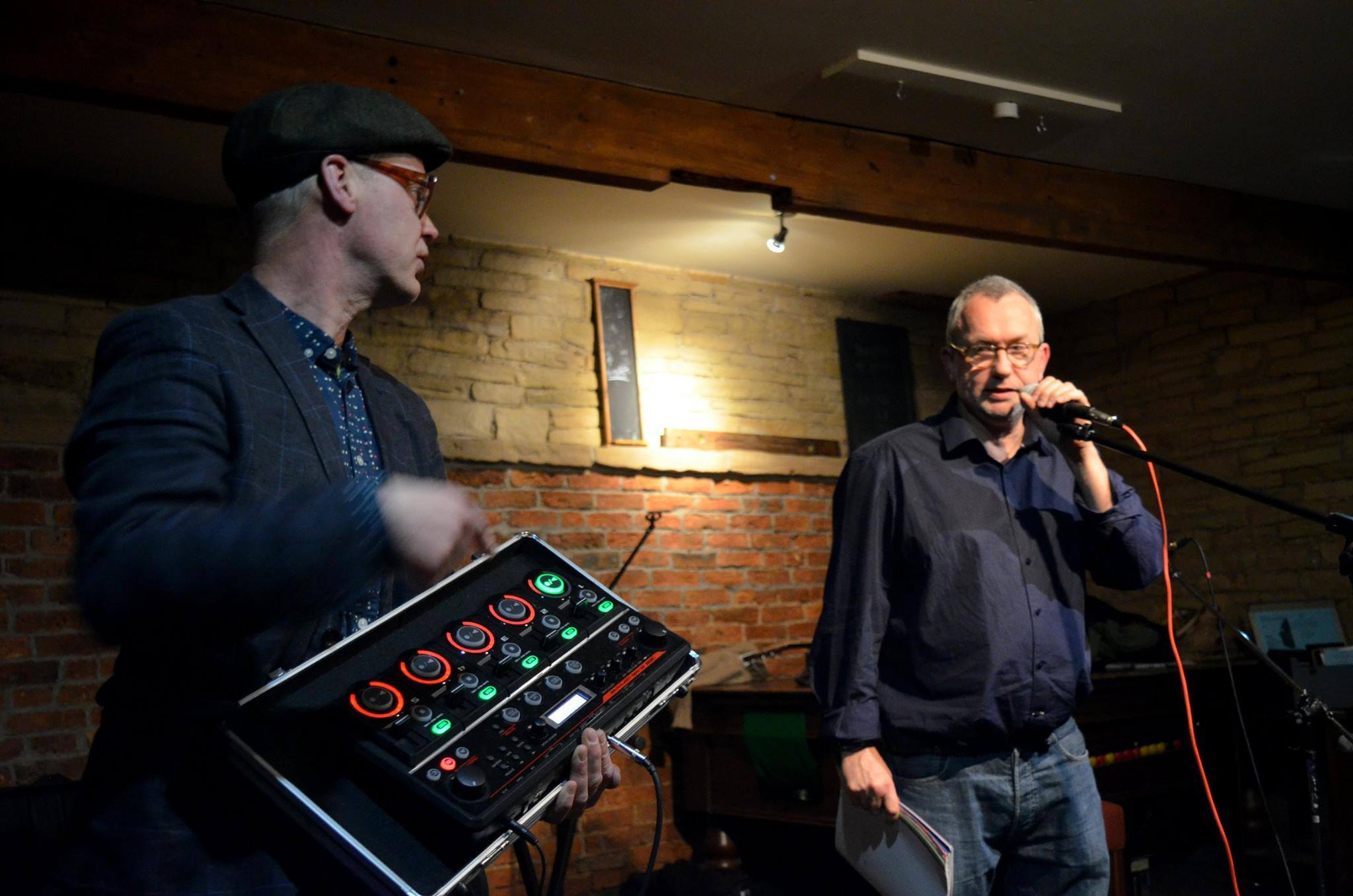 Northern Beat Poets - CD launches in Wakefield - Jimmy Andrex